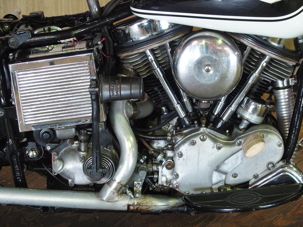 ハーレーダビッドソン 1965 FLH 1200 車体写真7