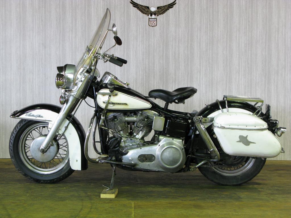 ハーレーダビッドソン 1965 FL Police special 車体写真4