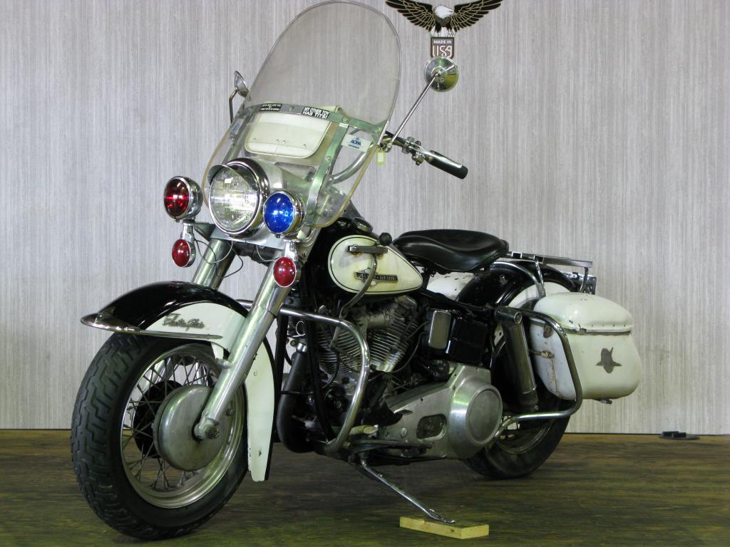ハーレーダビッドソン 1965 FL Police special 車体写真5