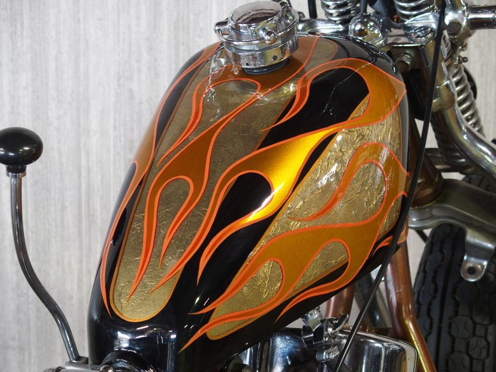 ハーレー FL Rigid full custom 車体写真7