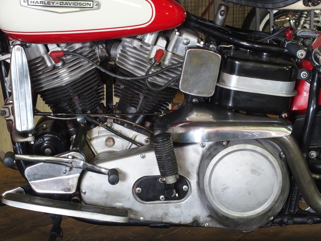 ハーレーダビッドソン 1966 FLH 1200 Early Shovel 車体写真9