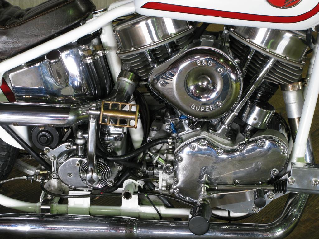 ハーレーダビッドソン 1967 FLH Ridgid Custom 車体写真7