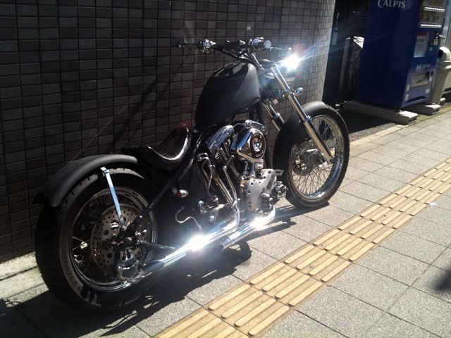 ハーレー Pan shovel early shovel 車体写真4