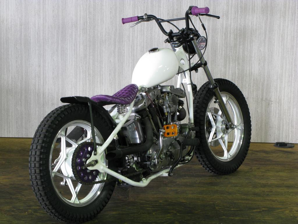 ハーレーダビッドソン 1967 XLCH Custom 車体写真3