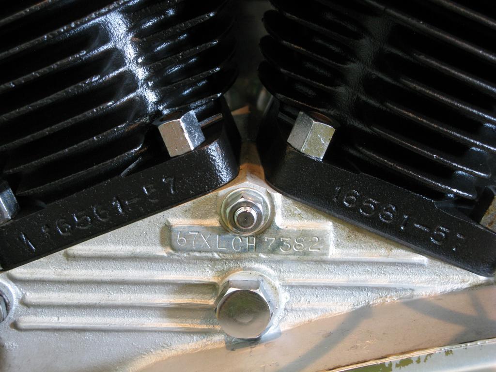 ハーレーダビッドソン 1967 XLCH 車体写真10