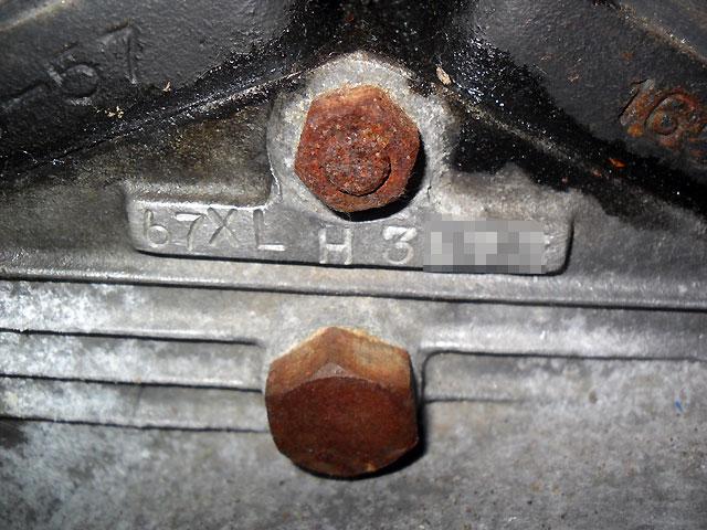ハーレーダビッドソン 1967 XLH 車体写真11