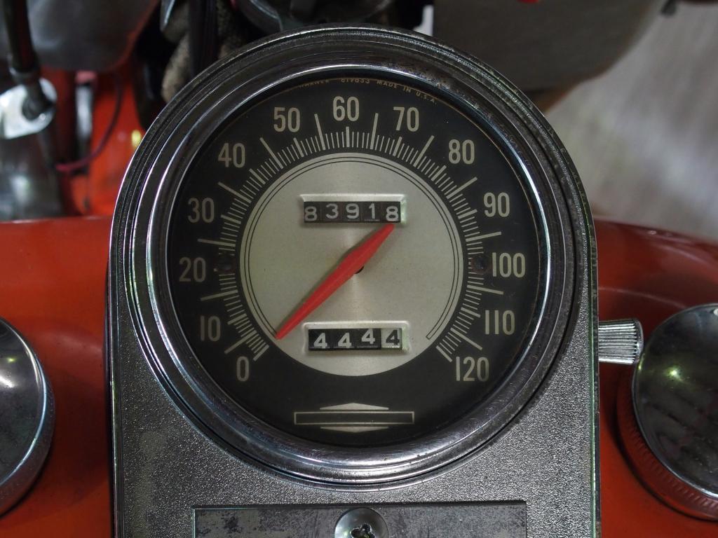 ハーレーダビッドソン 1968 FLH 1200 Early Shovel 車体写真9