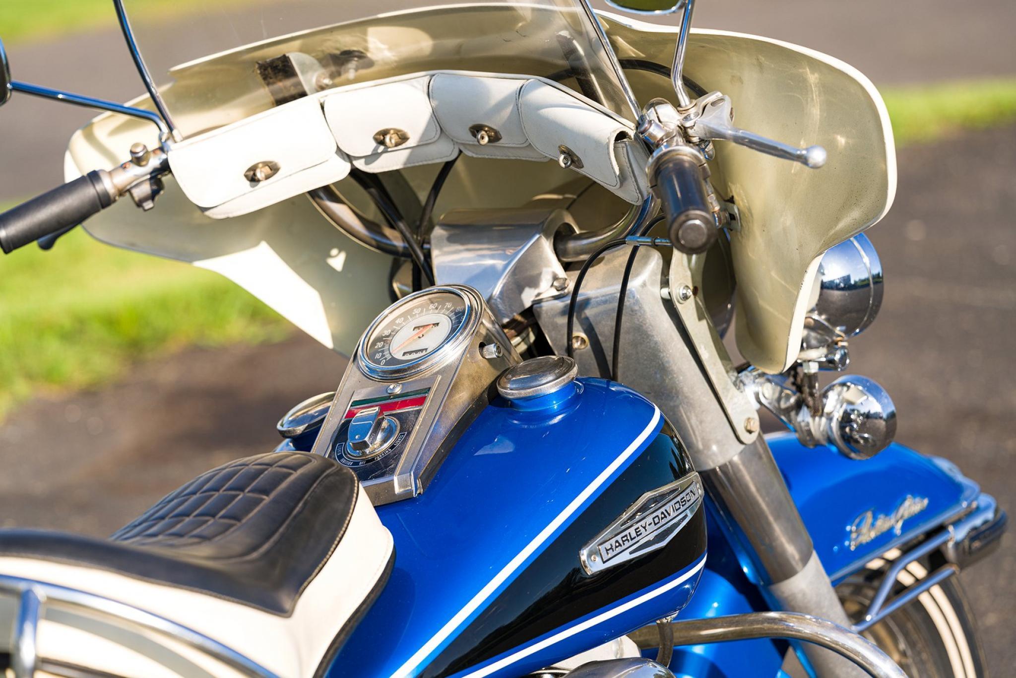 ハーレーダビッドソン 1968 FLH 1200 車体写真8
