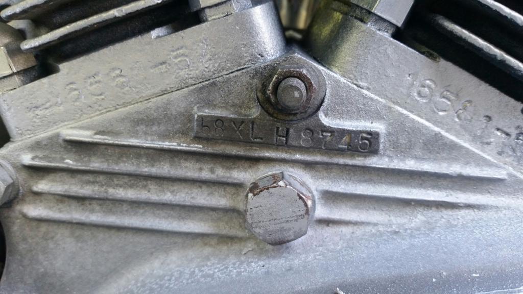 ハーレーダビッドソン 1968 XLH 900 車体写真10