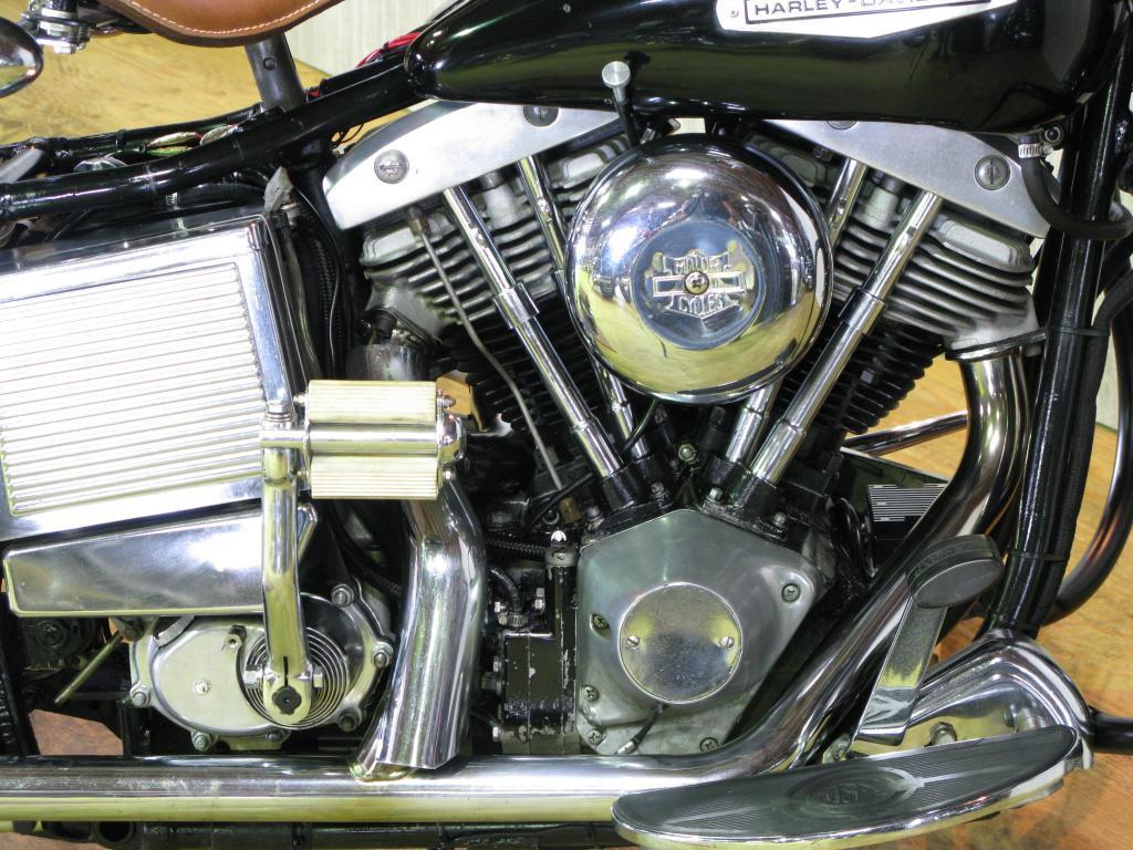 ハーレーダビッドソン 1970 FLH 1200 車体写真7