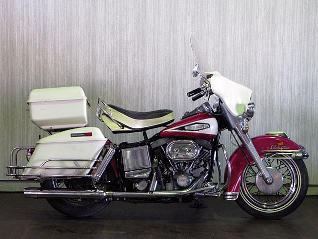 ハーレーダビッドソン 1970 FLH 1200cc 車体写真1