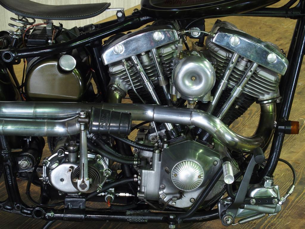 ハーレーダビッドソン 1970 FLH Custom 車体写真8