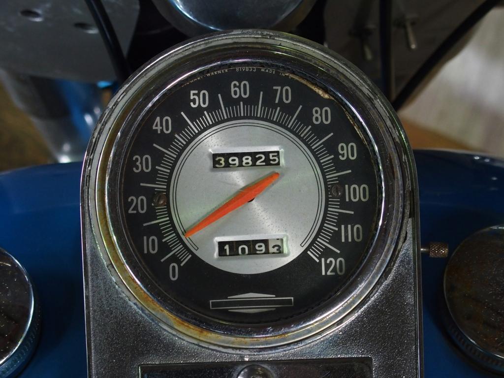 ハーレーダビッドソン 1970 FLH 1200 車体写真9