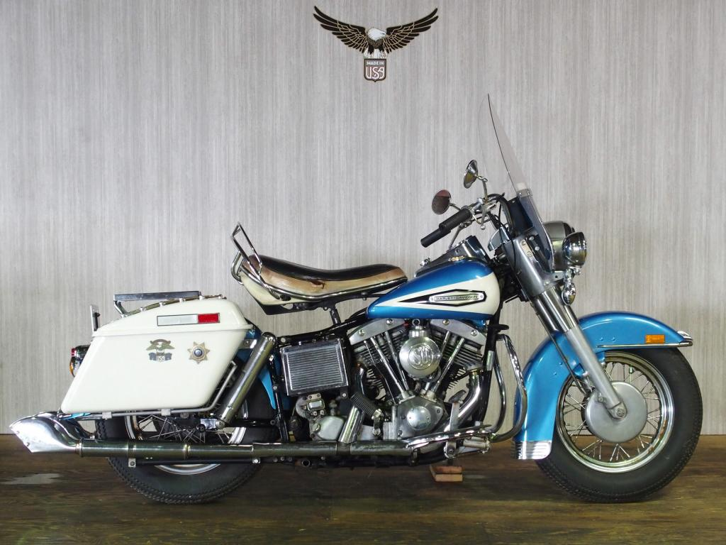 ハーレーダビッドソン 1970 FLH 1200 車体写真1