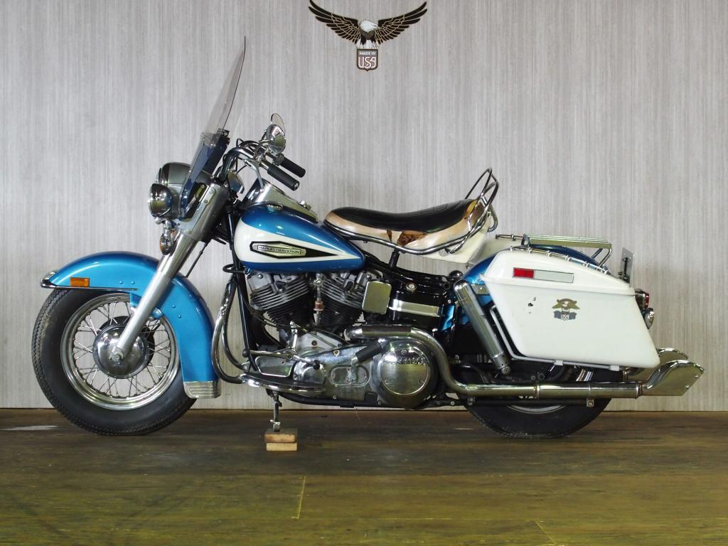 ハーレーダビッドソン 1970 FLH 1200 車体写真4