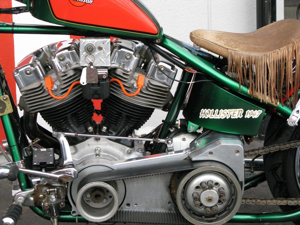 ハーレーダビッドソン 1970 FL Ridgid Shovel 車体写真8