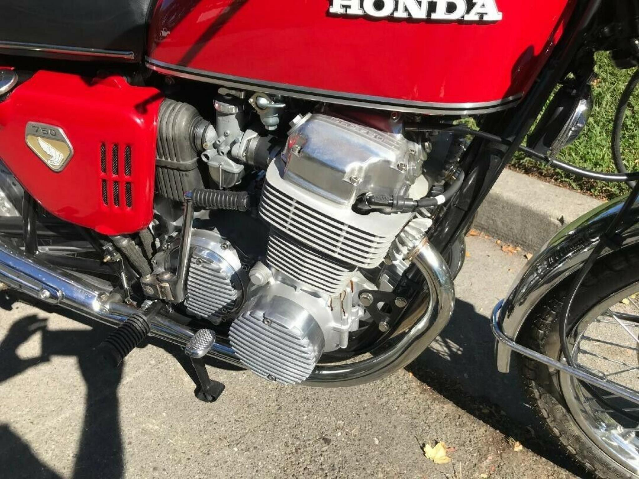 ホンダ 1970 HONDA CB 750 Four 車体写真3