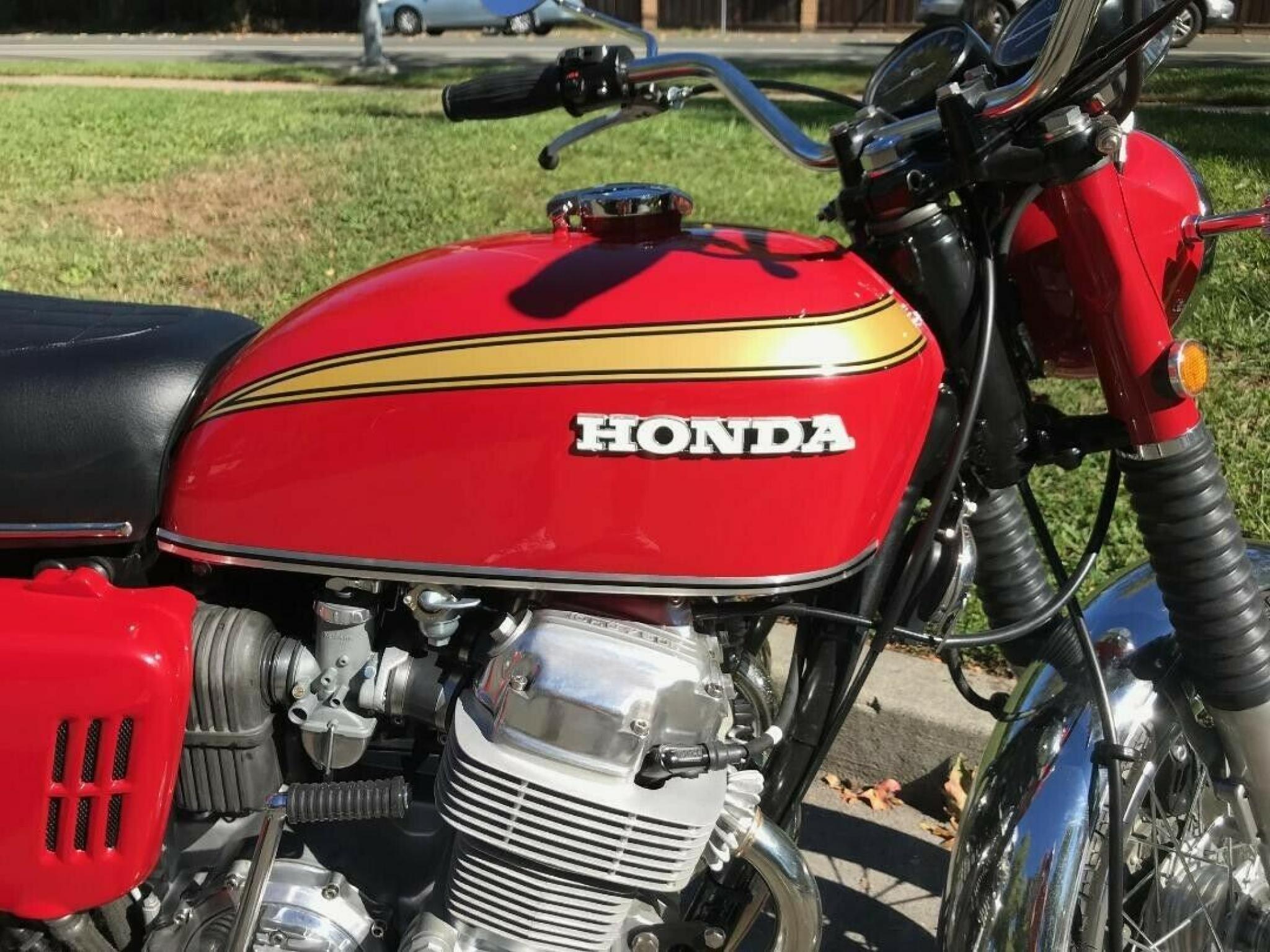 ホンダ 1970 HONDA CB 750 Four 車体写真5