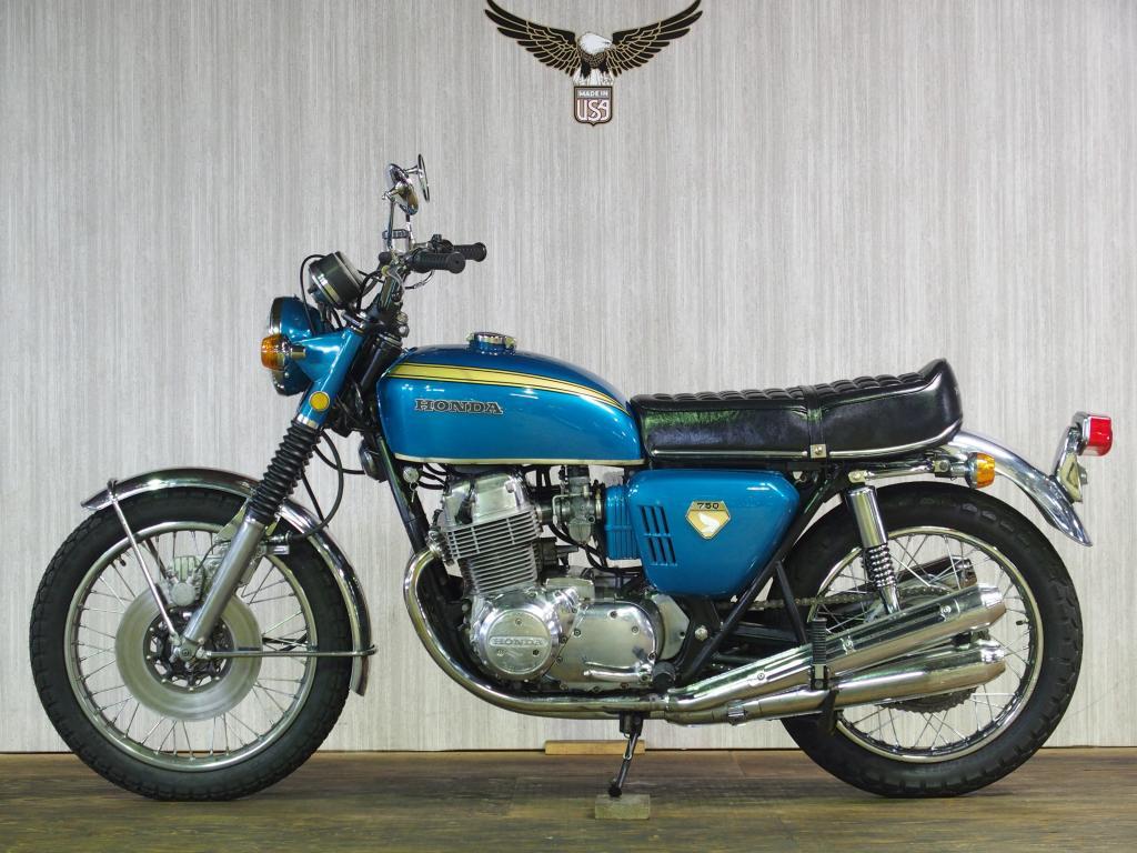 ホンダ 1970 HONDA CB 750 K0 車体写真4
