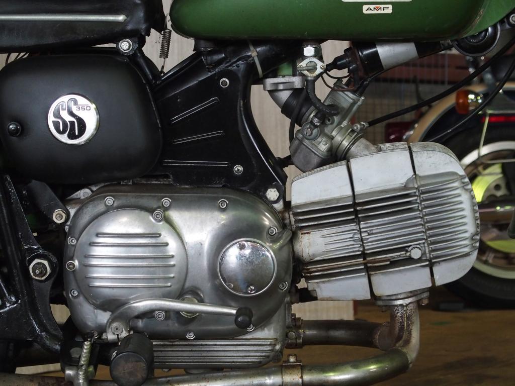 ハーレーダビッドソン 1971 AMF Sprint SS 350 車体写真7