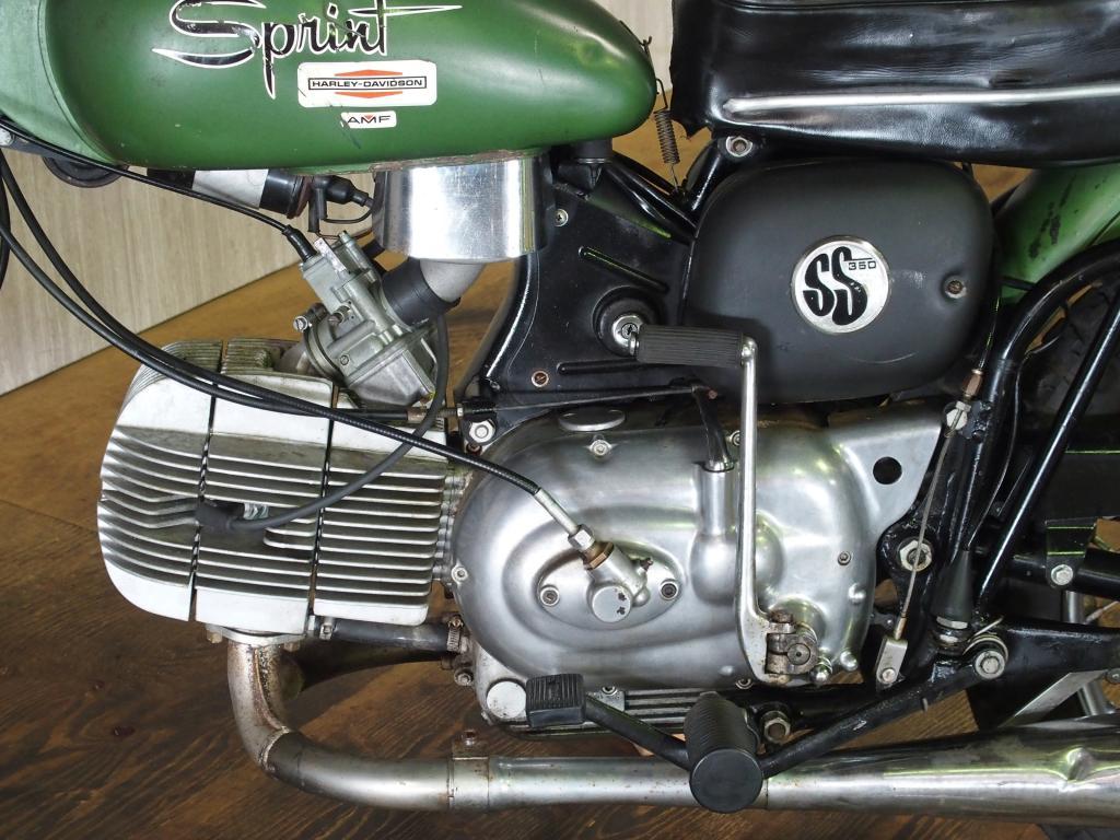 ハーレーダビッドソン 1971 AMF Sprint SS 350 車体写真8