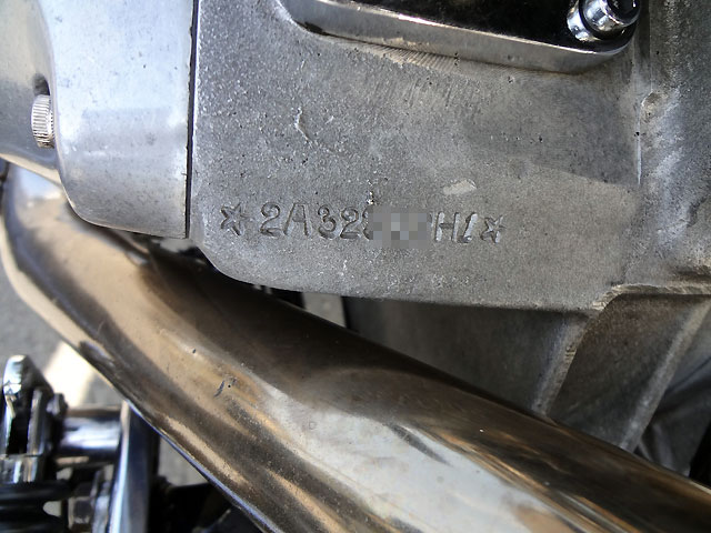 ハーレーダビッドソン 1971 FLH Shovel Ridgid Bobber 車体写真12