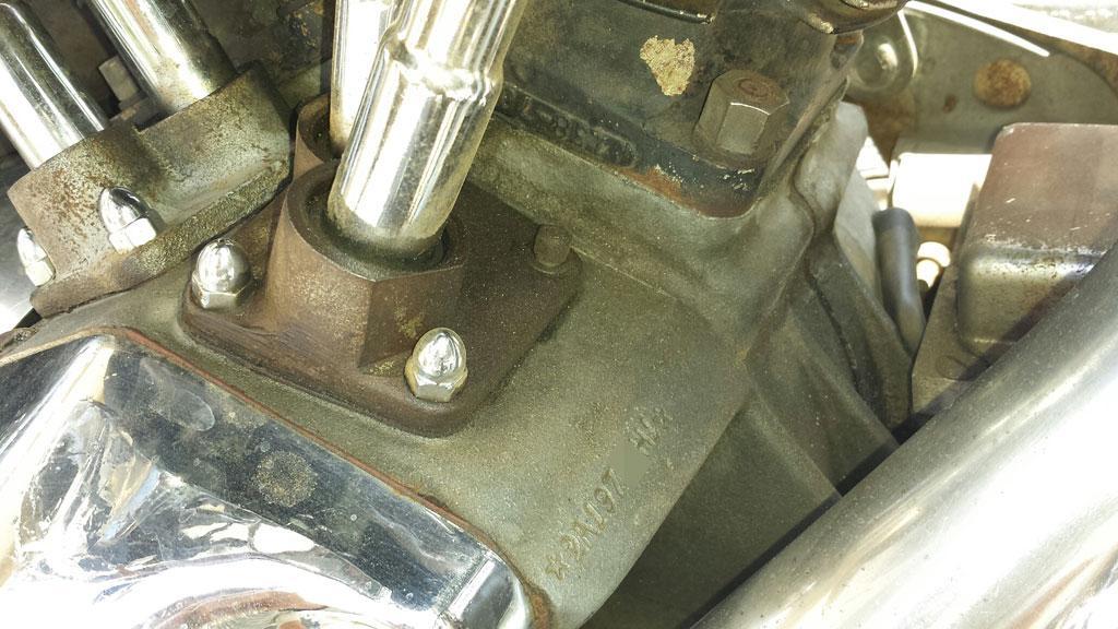 ハーレーダビッドソン 1971 FLH 車体写真11