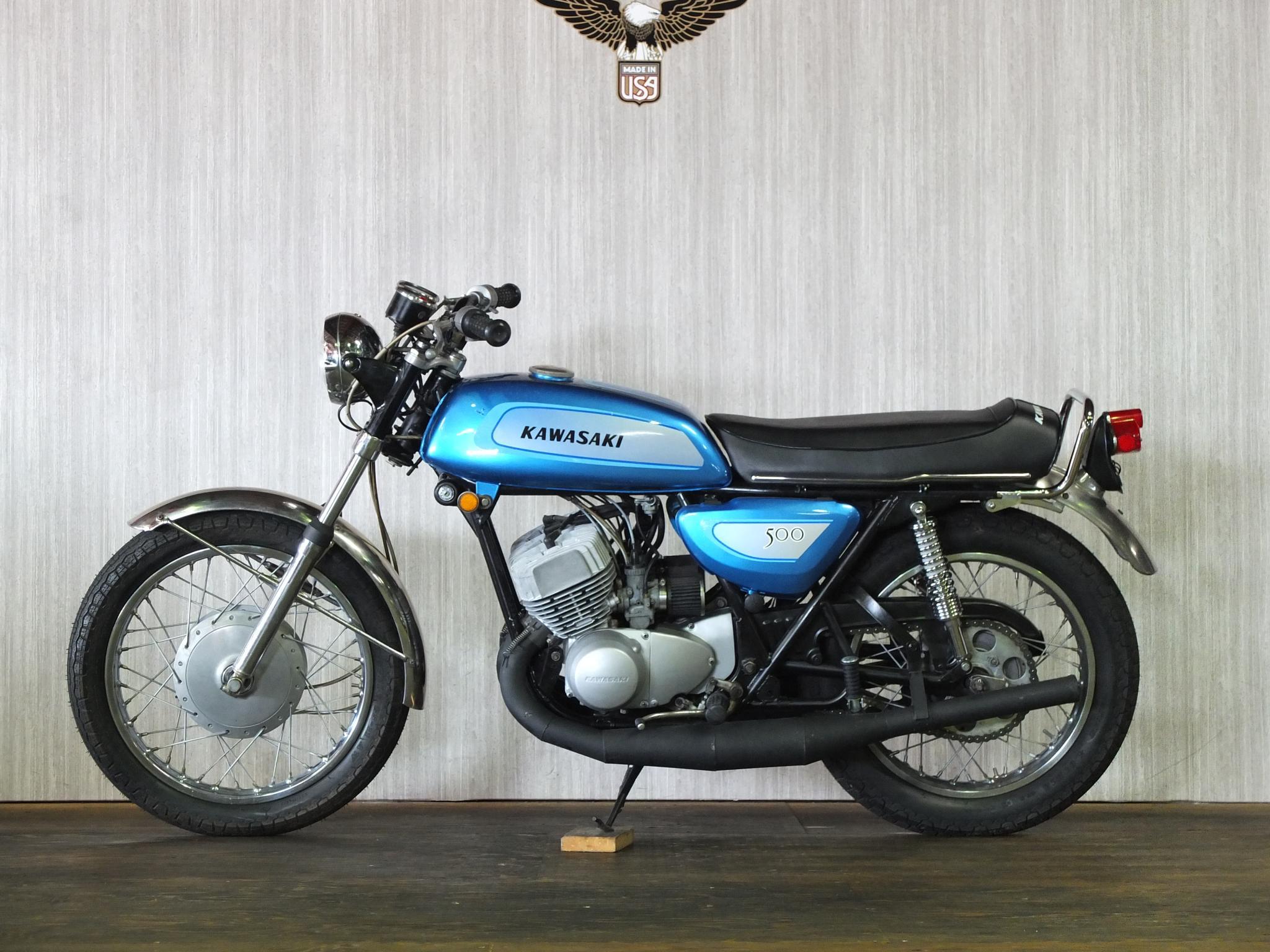 カワサキ 1971 Kawasaki SS500 車体写真4