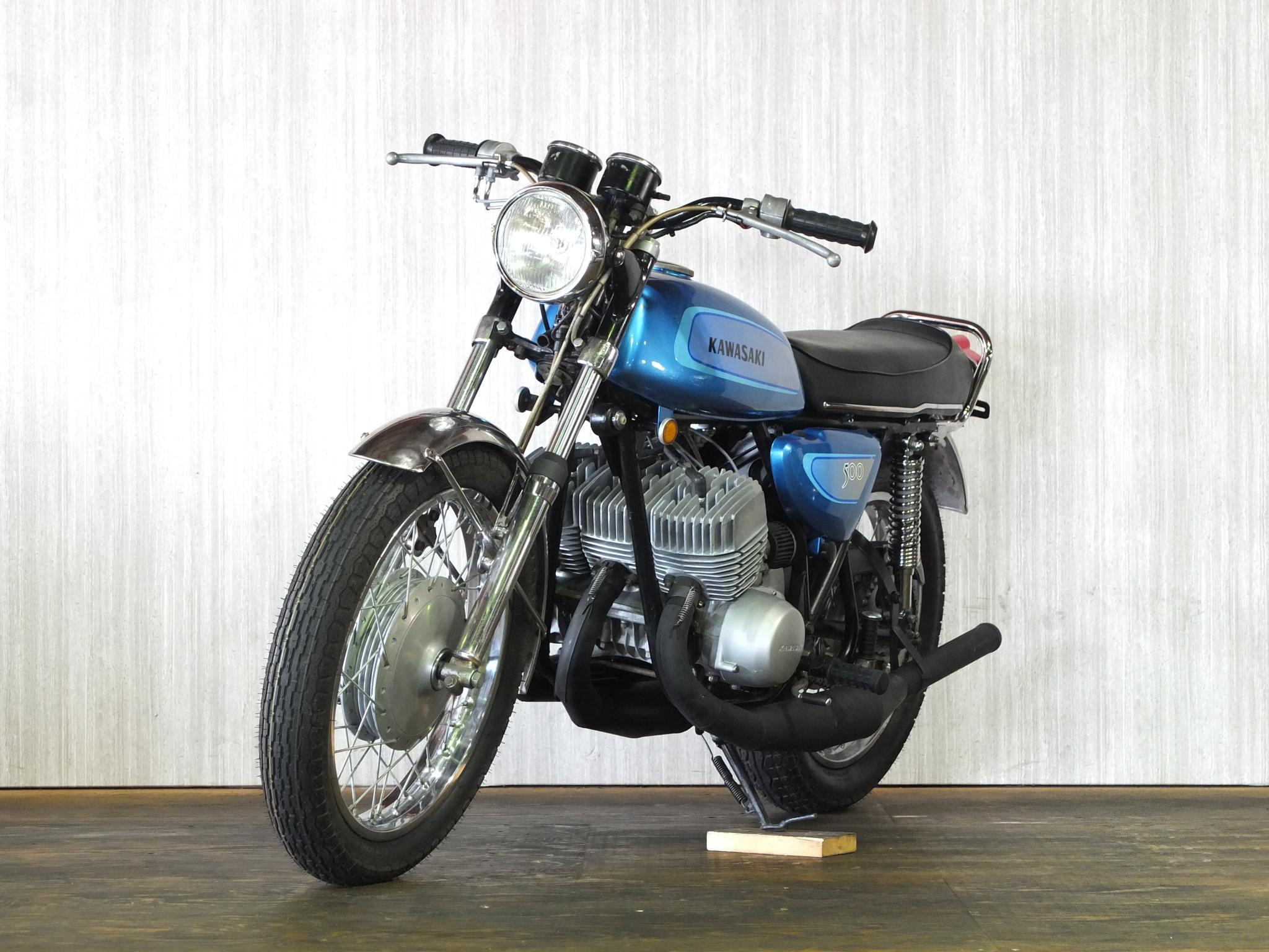 カワサキ 1971 Kawasaki SS500 車体写真5