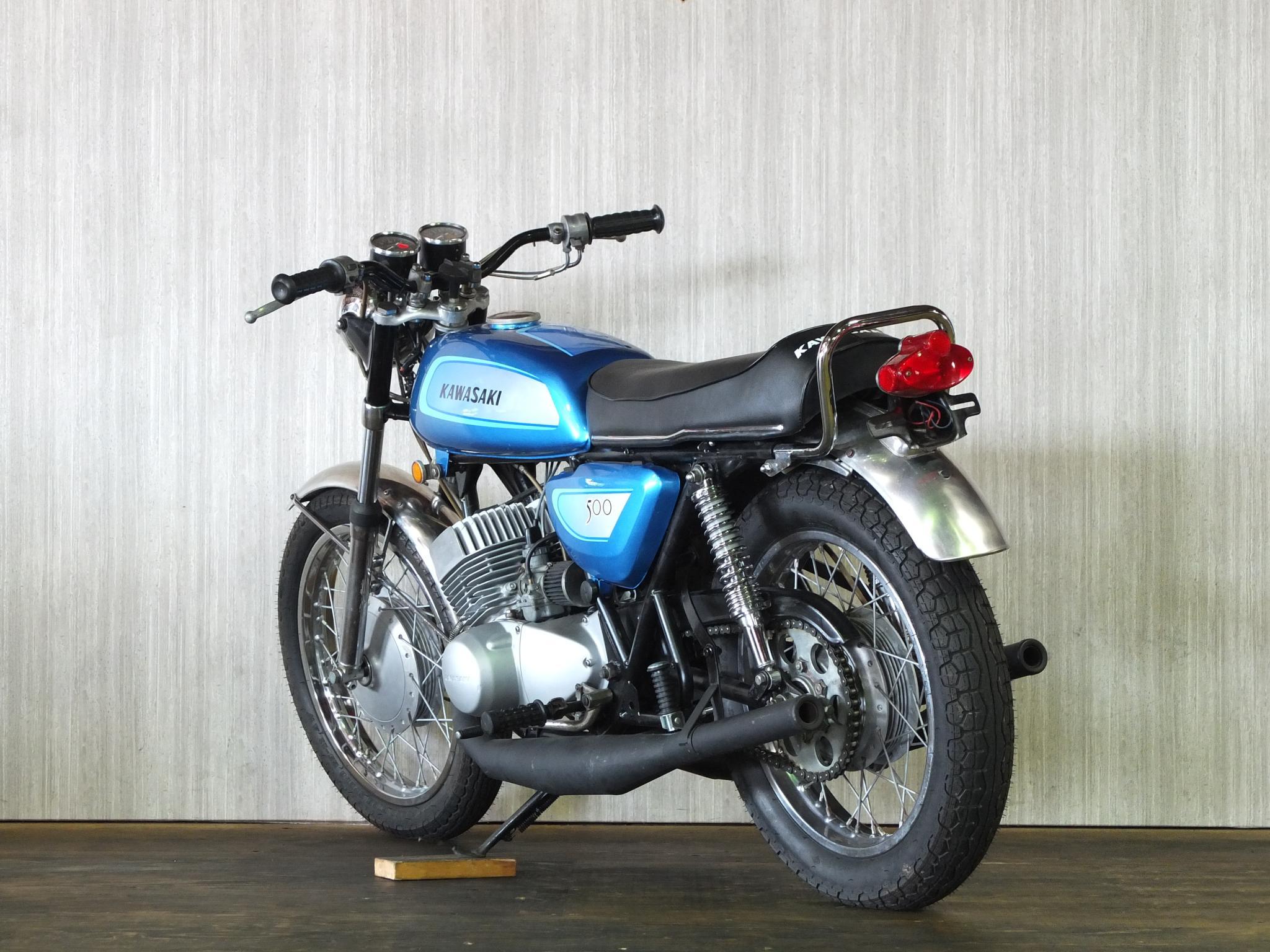 カワサキ 1971 Kawasaki SS500 車体写真6