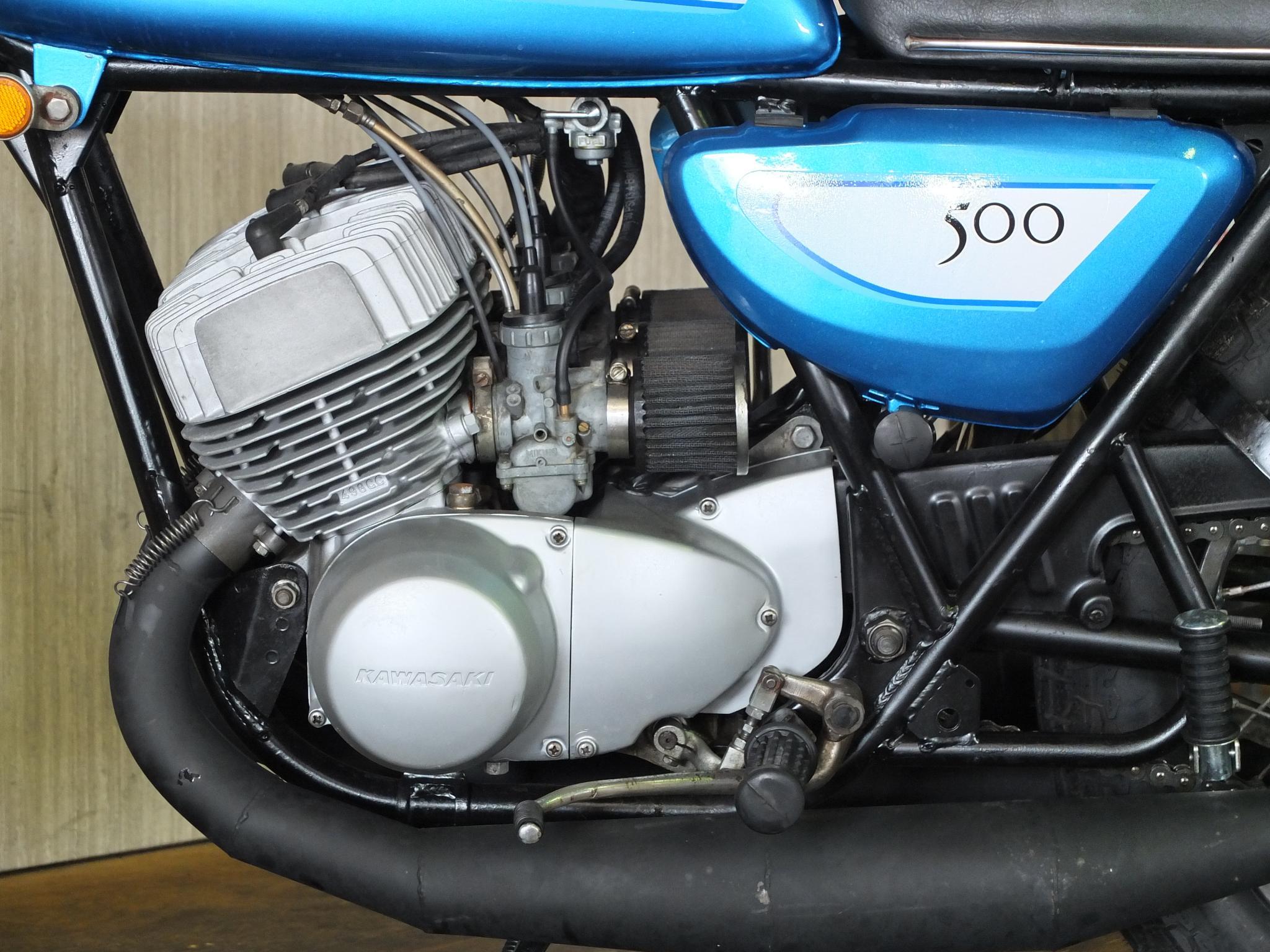 カワサキ 1971 Kawasaki SS500 車体写真8