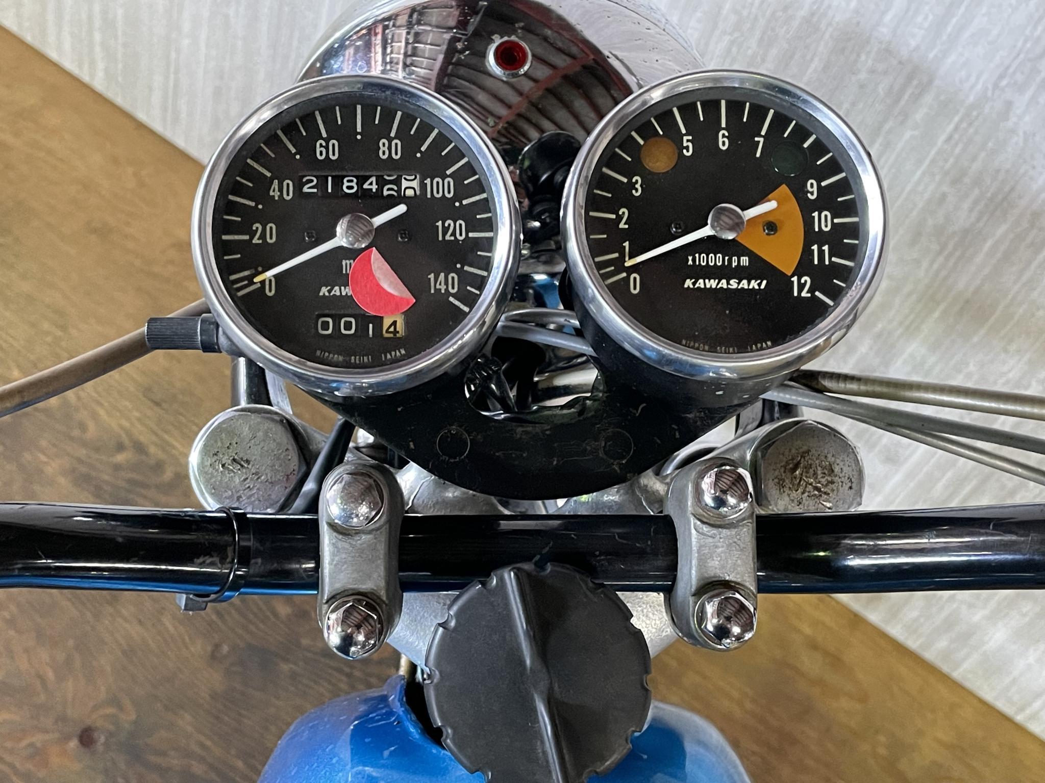 カワサキ 1971 Kawasaki SS500 車体写真9