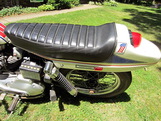 ハーレーダビッドソン 1971 XLCH Sparkling American 車体写真10