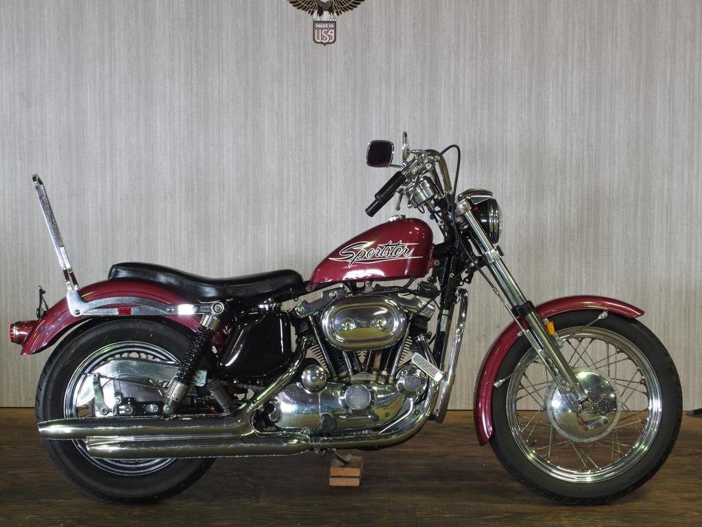 ハーレーダビッドソン 1971 XLH 1000 車体写真1