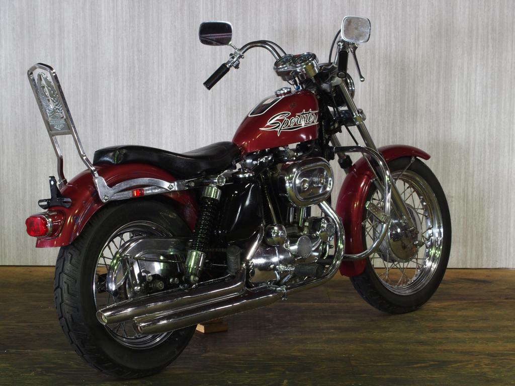 ハーレーダビッドソン 1971 XLH 1000 車体写真3