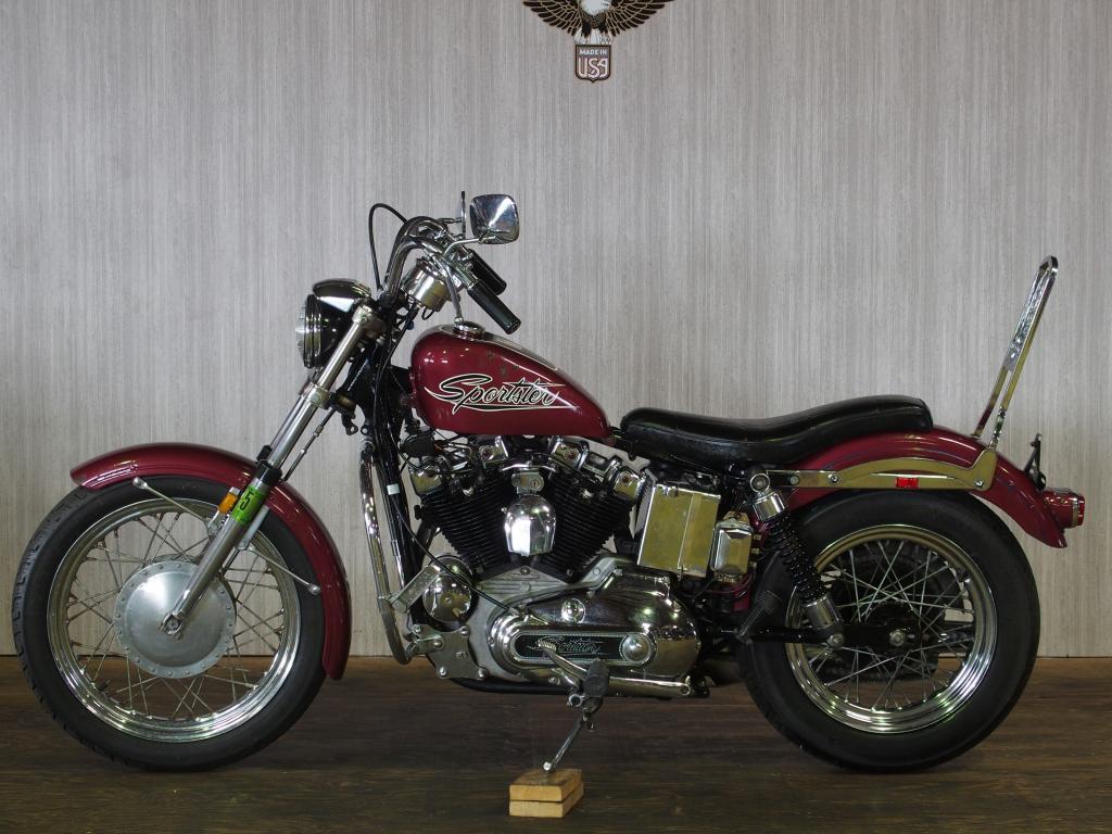 ハーレーダビッドソン 1971 XLH 1000 車体写真4