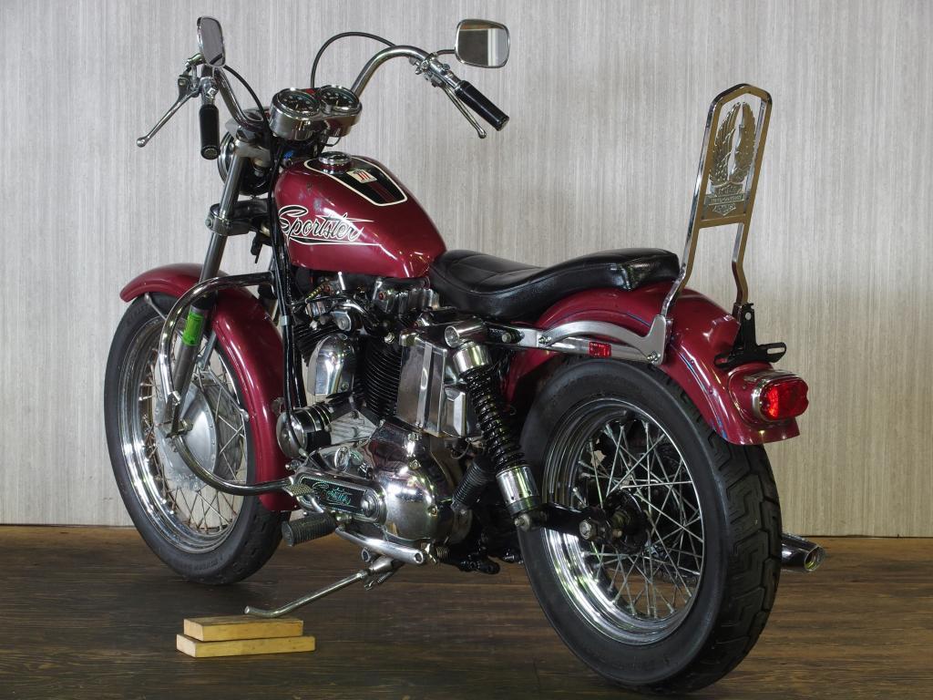 ハーレーダビッドソン 1971 XLH 1000 車体写真6