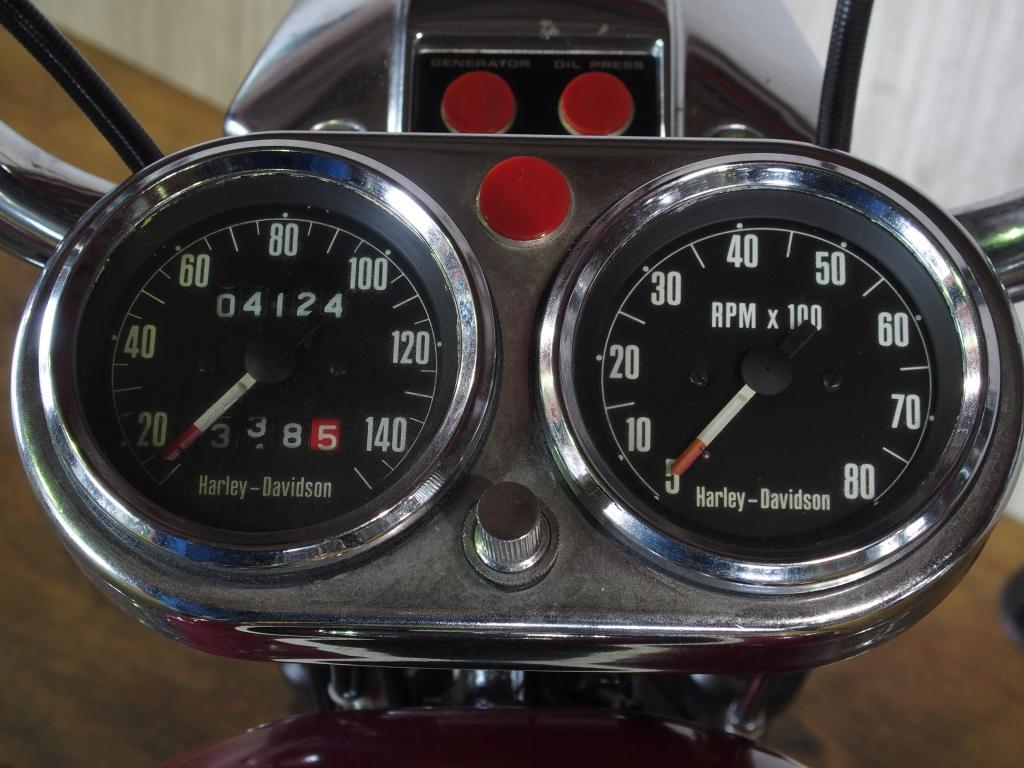 ハーレーダビッドソン 1971 XLH 1000 車体写真9