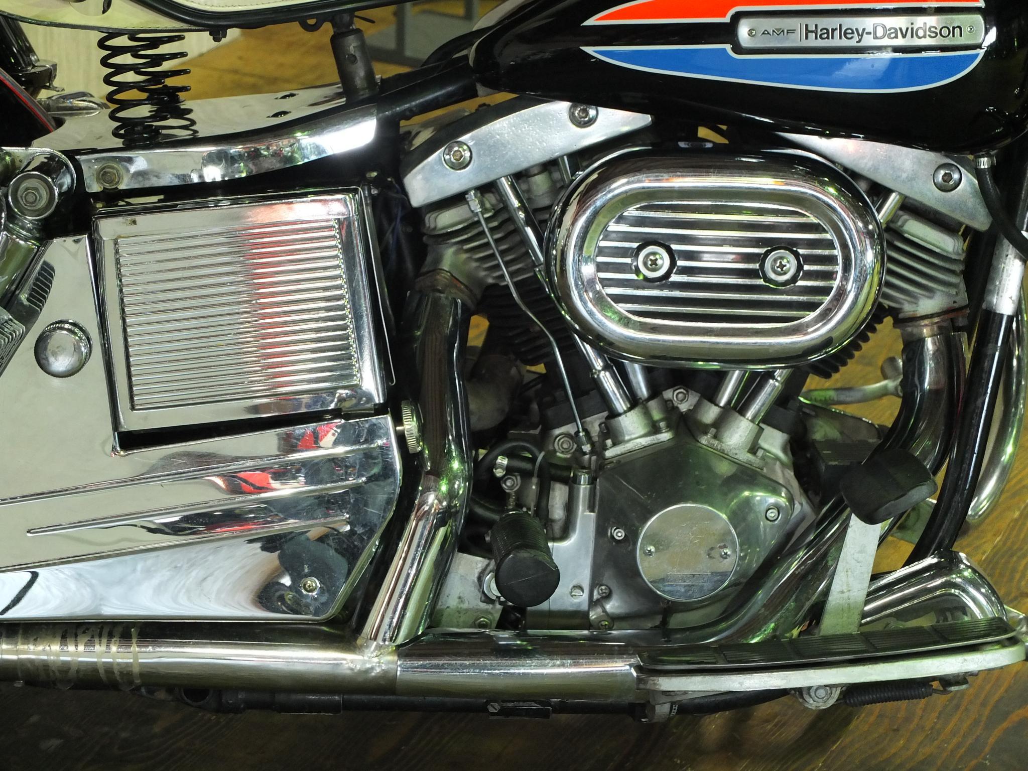 ハーレーダビッドソン 1972 FLH 1200 車体写真7