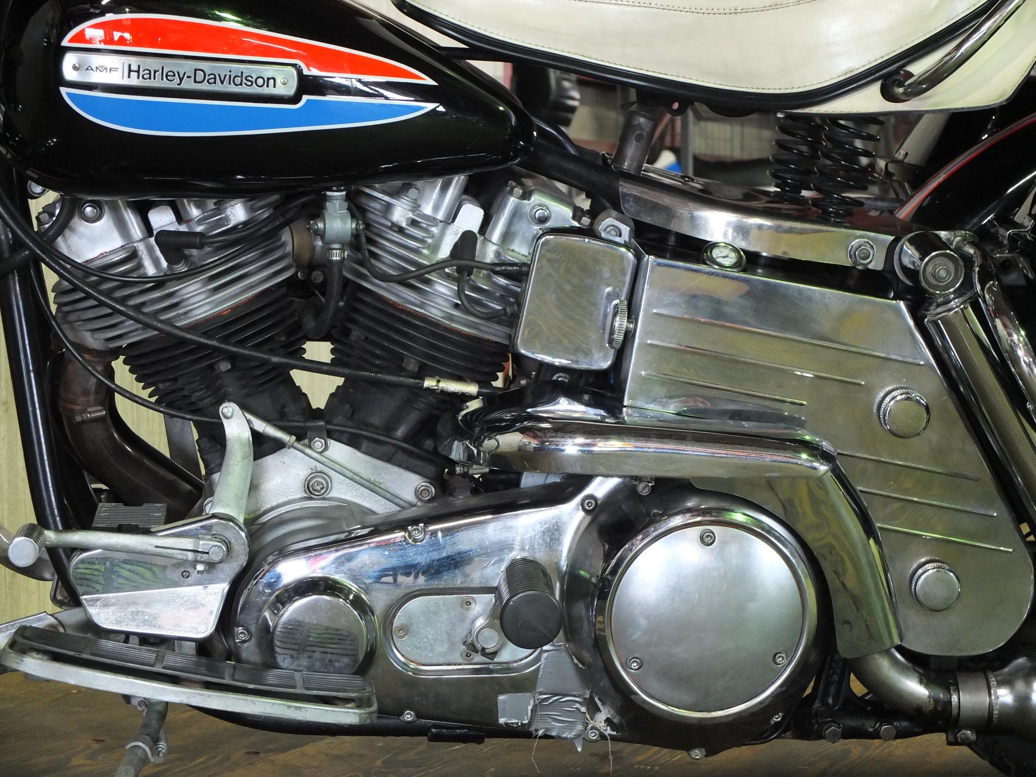 ハーレーダビッドソン 1972 FLH 1200 車体写真8