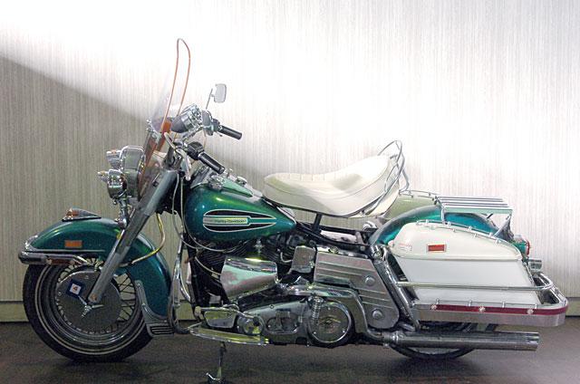 ハーレーダビッドソン 1972 FLH 車体写真8