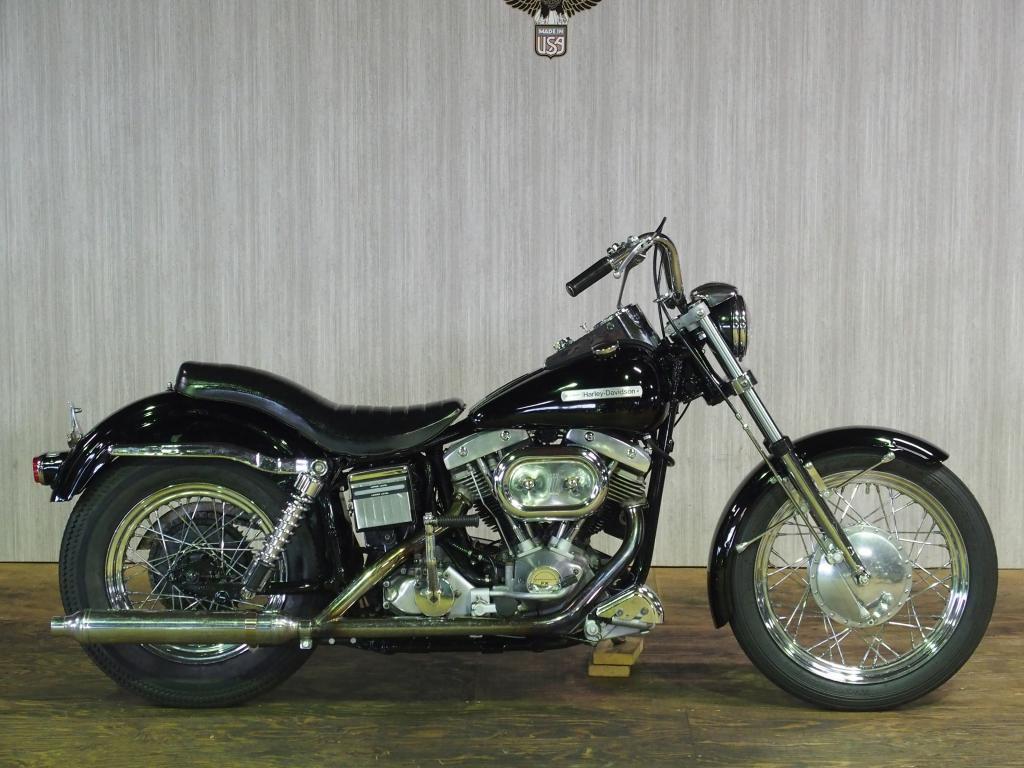 ハーレーダビッドソン 1972 FX 1200 車体写真1