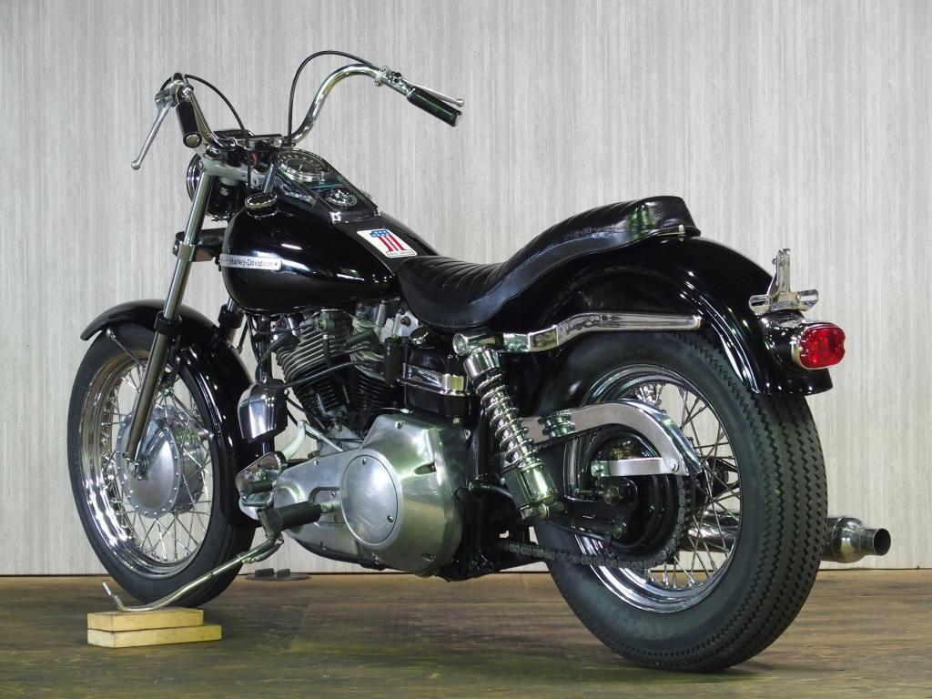 ハーレーダビッドソン 1972 FX 1200 車体写真6