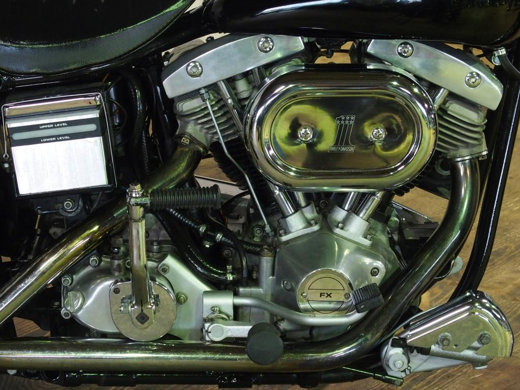 ハーレーダビッドソン 1972 FX 1200 車体写真7