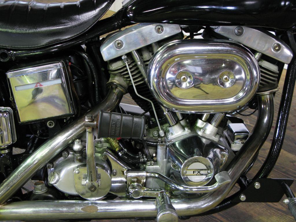 ハーレーダビッドソン 1972 FX Midnight Express 車体写真7