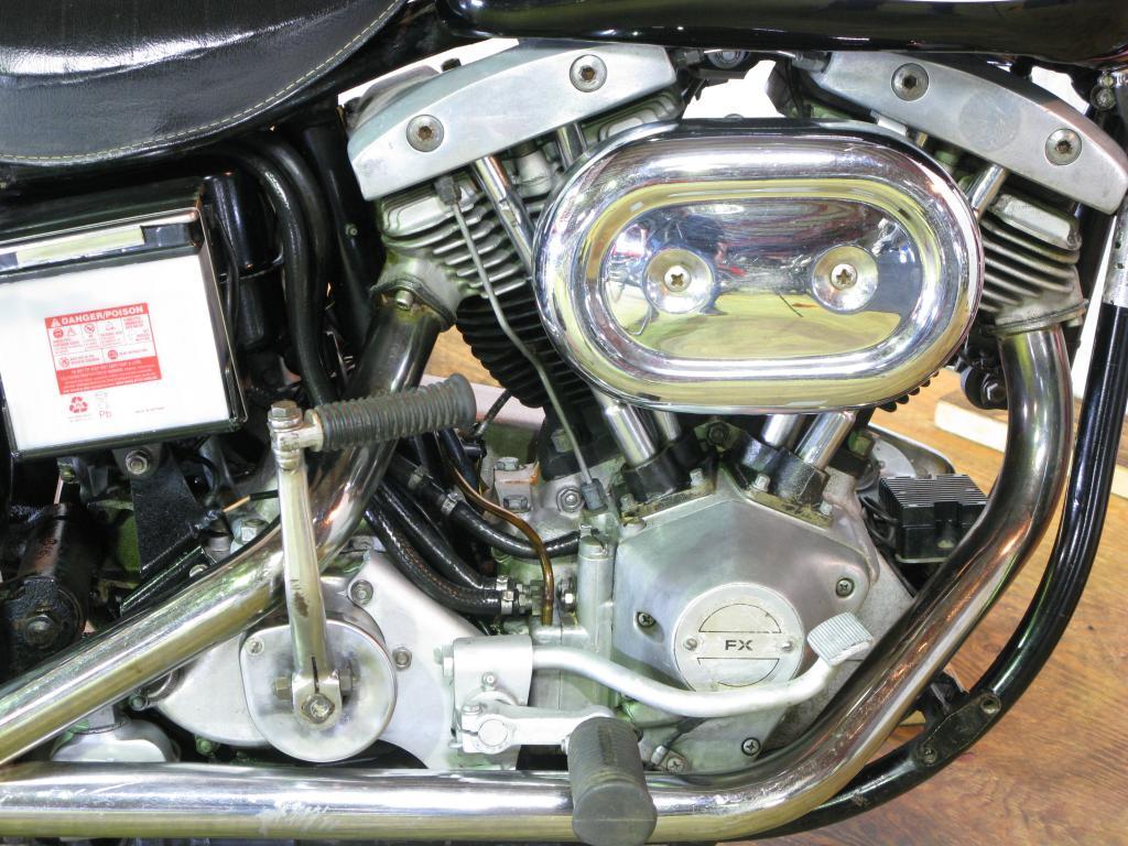 ハーレーダビッドソン 1972 FX 車体写真7