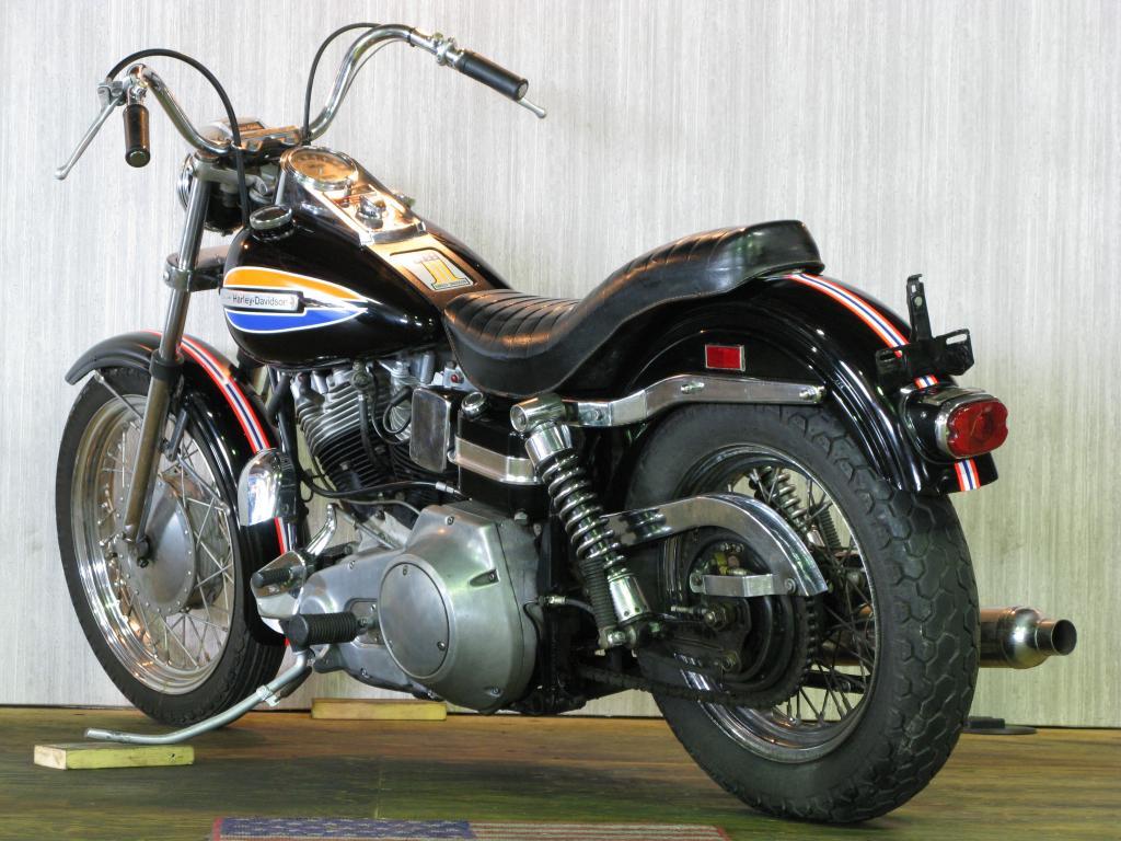ハーレーダビッドソン 1972 FX 車体写真6