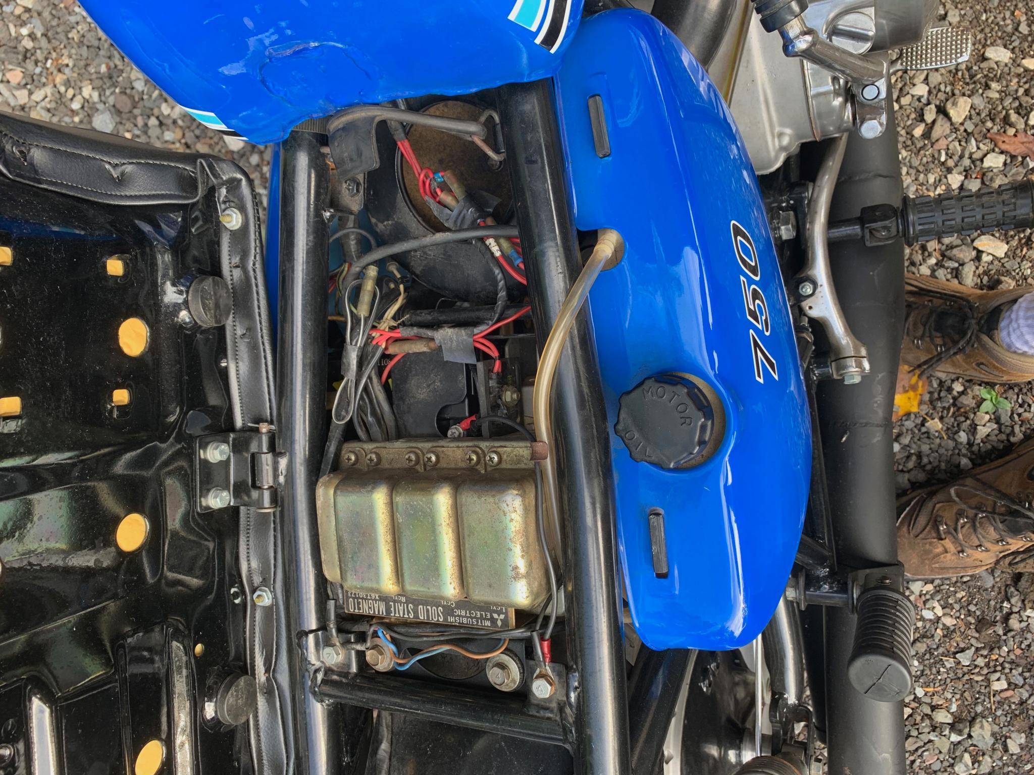 カワサキ 1972 Kawasaki SS750 車体写真6