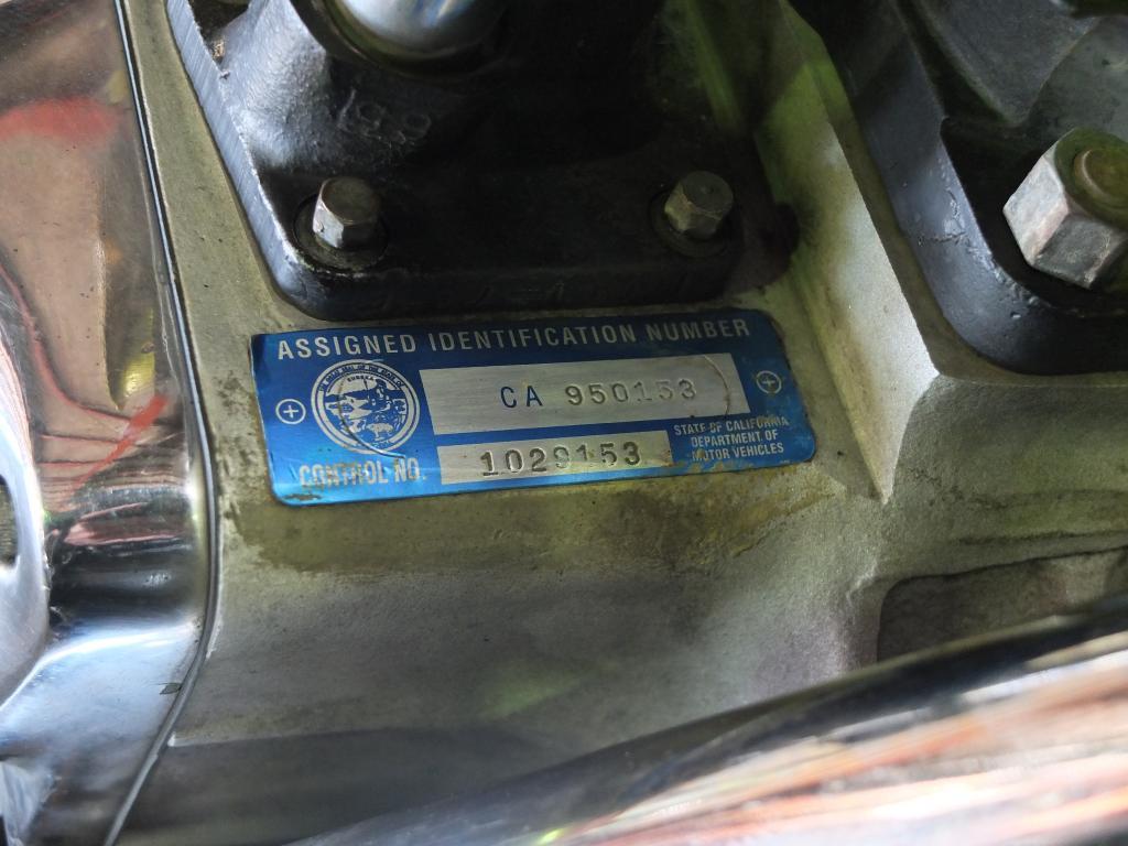 ハーレーダビッドソン 1972 Rigid Shovel 車体写真10