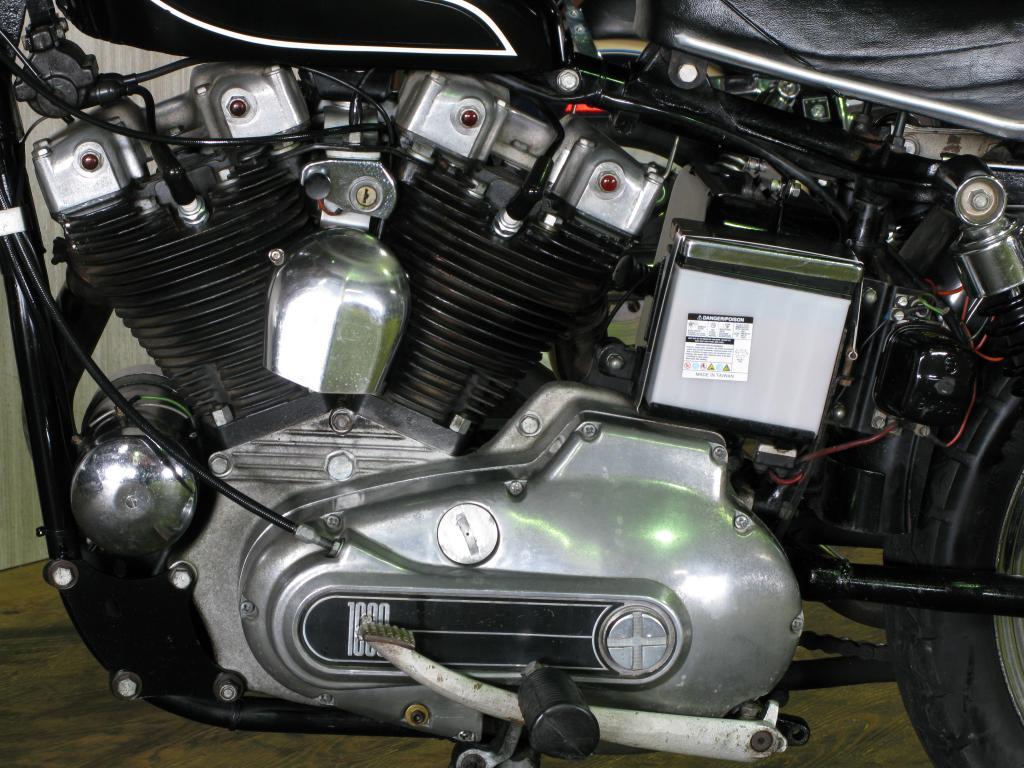 ハーレーダビッドソン 1972 XLCH 1000 車体写真8